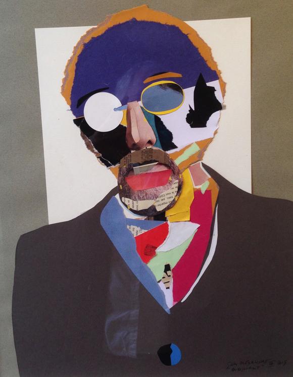 11. Autoportrait Gilles Alexandre