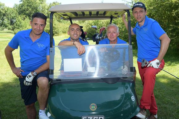 11. Damien Bassini, Louis-Joseph Lussiana, Gérard Frecon et Jean-Pierre Dabreteau