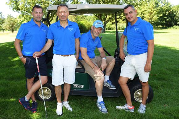 15. Arnaud Gauduel, Mehmet Meric, Nicolas Trompille et Xavier Gauduel