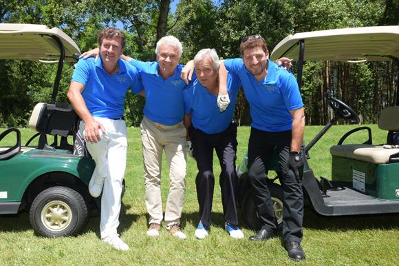 21. Hervé Bal, Richard Bret, Christian Sabatier et Mickael Gorizian