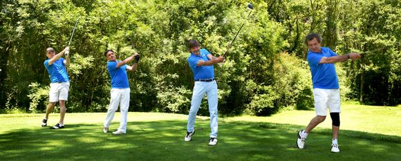 31. Petit pas de dance pour nos golfeurs...
