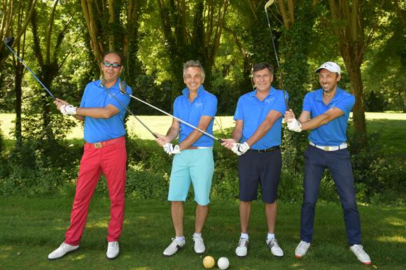 5. Benoit Licour, Hervé Duchamp, Fabrice Hoolbecq et Julien Parre