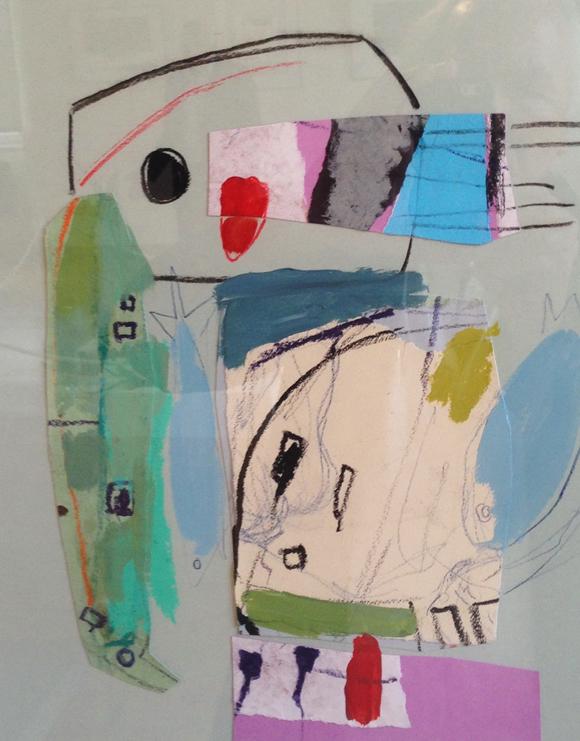 5. Collage d'Hélène Lamelloise