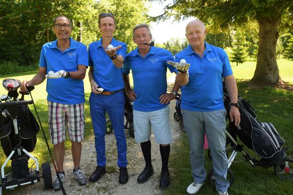 8. Jacques François, Philippe Pipier, Renaud Tourvieille et Charles Clerc