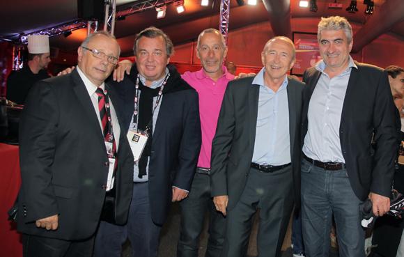 Les tribunes VIP de LOU Rugby – Brive