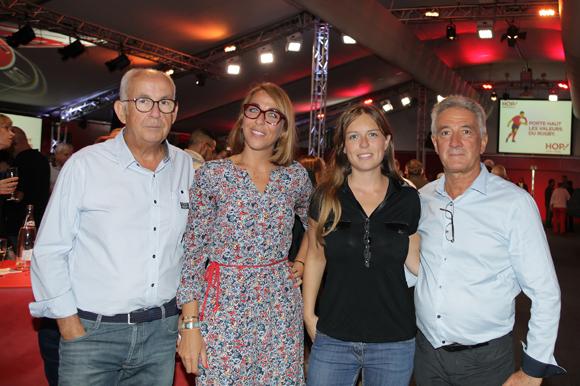 1. François Delli Colli, Audrey Monnot, Marielle Velon (Groupe Bernard Nissan) et Roger Girardon