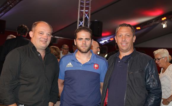 15. Gilles Delas (Bouygues), Yohan Basset (Détecte Réseaux) et Milan Stéphane (Serpolet)