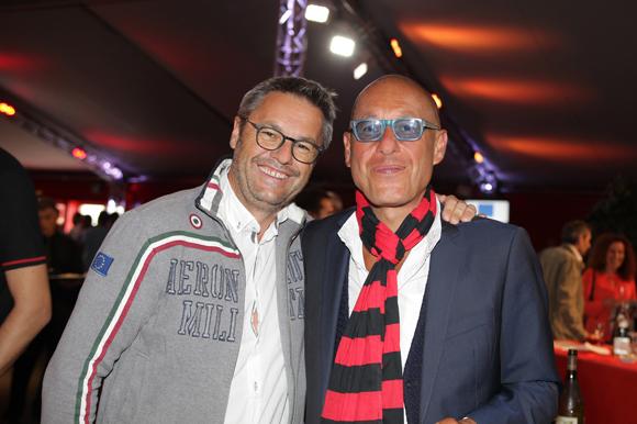 2. Stephan Blanchet (Les Puces du Canal) et Philippe Schein (OPSI)