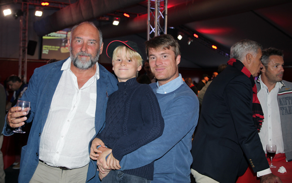 23. Gilles Teisseyre (Arcturus Group), Octave et Yann Dubourthoumiou (Adéo)