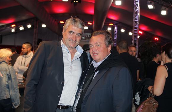 29. Michel Chenevat (Eiffage) et Olivier Ginon, président de GL Events