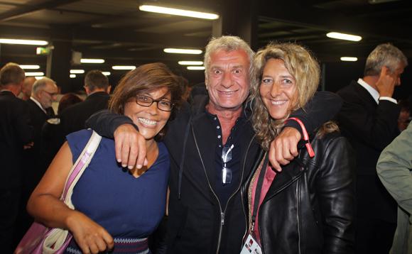 31. Kako Dubs, Francis Héritier (Caps) et Catherine Arbaud (LOU Rugby)