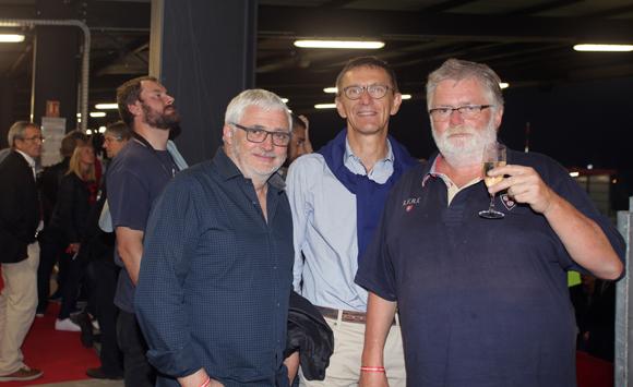35. Jean-Michel Gerin (Vigneron Côte-Rôtie), Alain Cart (Crédit Agricole Centre-Est) et Bruno Fanget (Maître de chais Côte-Rôtie)