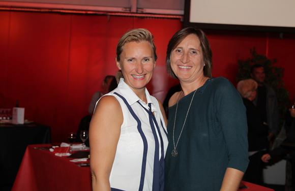 4. Laetitia Noblet (ORPI) et Fabienne Manhes, invitée Novotel