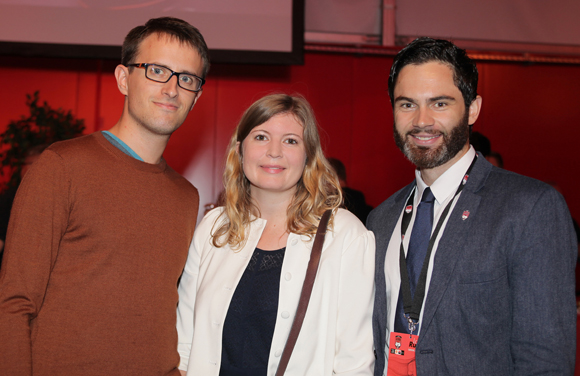 6. Fabrice Righi (LDLC), Lucile Maridet (Marsh.com) et Owen Jambou (LOU Rugby)