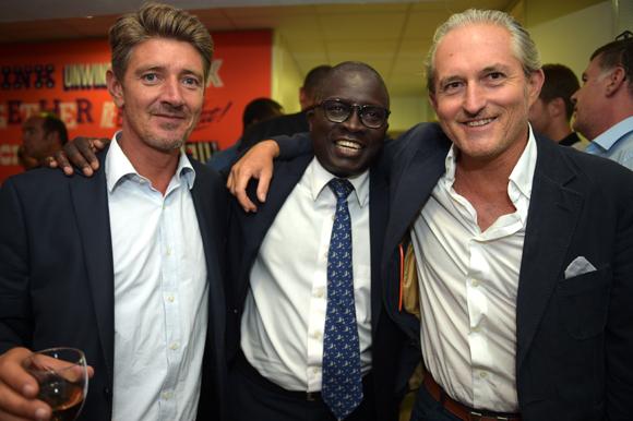 15. Damien Gouy-Perret, directeur de cabinet du maire du 6ème, Laye Diop (Marriott Hôtel) et le journaliste Pascal Auclair (FMI)