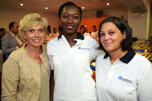 5. Isabelle Ardail (Caisse d'épargne CERA), Anzata Ouattara et Nelly Bailleux (AnaHome Immobilier)