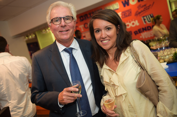 7. Eric Wesse, Stéphanie Lachgar (Banque Cantonale de Genève/France)