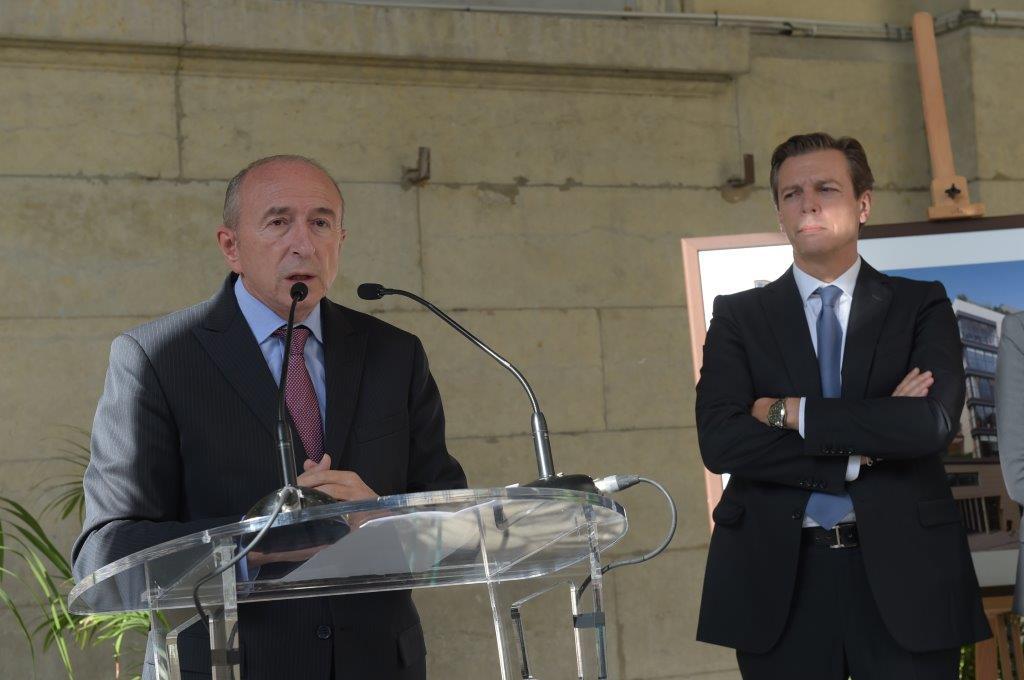 Pascal Blache et Gérard Collomb. L'entrepreneur et le cumulard