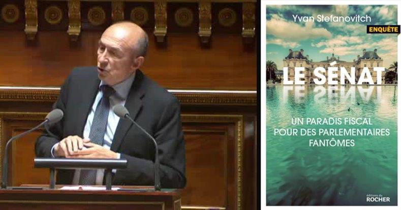 Gérard Collomb au Sénat. Un emploi fictif à 136 200 euros