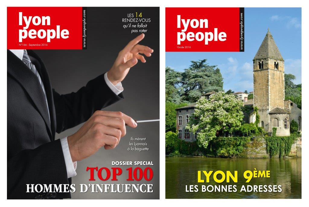 Magazine Lyon People. Le Top 100  fait jaser les décideurs lyonnais.