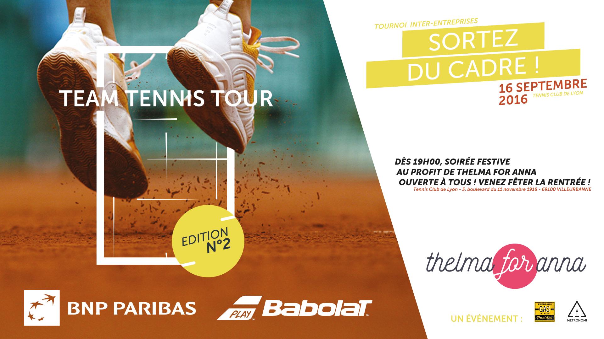 Team Tennis Tour 2016. Demandez le programme !