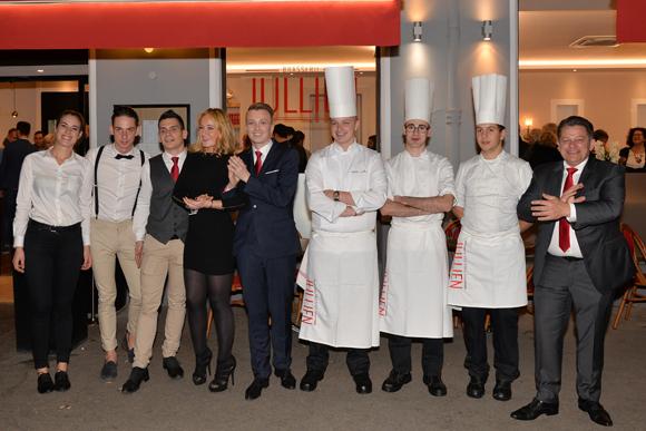 Lyon Brotteaux. Inauguration de la Brasserie Jullien