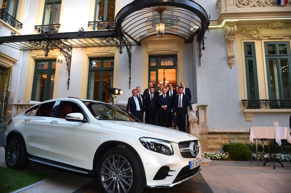Nouvelle Mercedes-Benz Classe C Cabriolet Baptême au Restaurant Marguerite