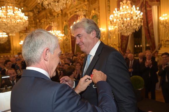 Richard Brumm. Chevalier de la Légion d'Honneur