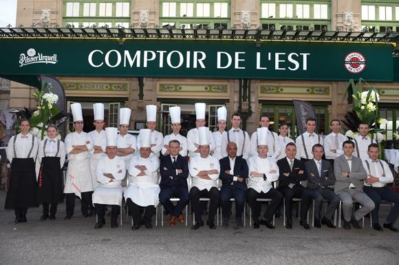 Inauguration du comptoir de l est - Le comptoir de l ancienne ...
