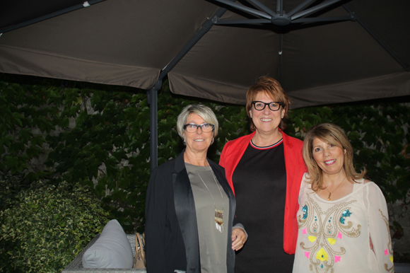10. Marie-Claude (Axotel), Catherine Defourny, directrice Best Western Charlemagne et Samira Naf