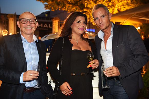 10. Vincent Sorgues (WRS), Rania Saliba et Philippe Perroud