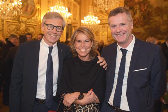 10. Hugues Pouzet, consul d'Estonie, Maitre Cécile Conan-Fillatre et son époux Christophe Fillatre (Publicis)