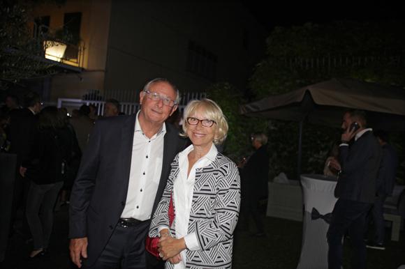 12. Jean-François Coulon (MMA), et son épouse Denise