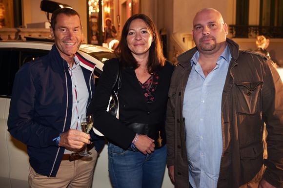 12. Ghislain Amedur (Great Events), Daisy Schwertzler (Mercedes-Benz) et David Lorente (Great Events)