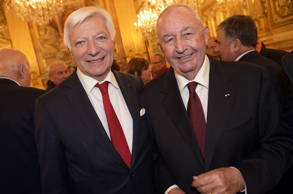 12. Marc Fraysse (Cofely GDF Suez) et Jean-Paul Mauduy, président de la CCIR