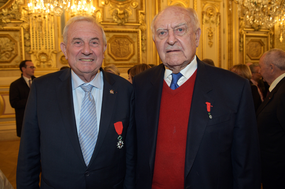 13. Michel Forissier,  Sénateur maire de Meyzieu et Bernard Sonnier