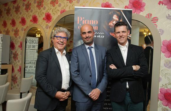 1. Roland Bernard (Axotel), Thomas San Marco (CNR) et Jérôme Chabannes (Piano à Lyon)