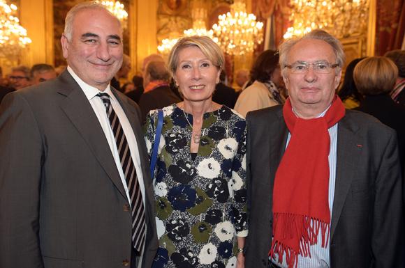 14. Georges Képénékian, premier adjoint au maire de Lyon, Myriam Picot, maire du 7ème et Bernard Rivalta, conseiller du président de la SNCF
