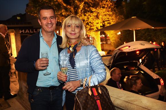 15. Jean-Philippe Ginard (Romera) et son épouse Huguette