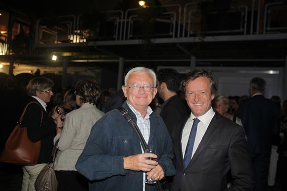 16. Gérard Corneloup, historien, et Thomas Rudigoz maire du 5° arrondissement