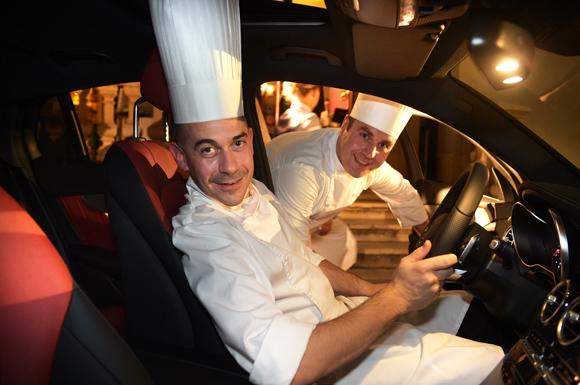 17. Le chef Francesco Santin et le sous-chef Benjamin Besse