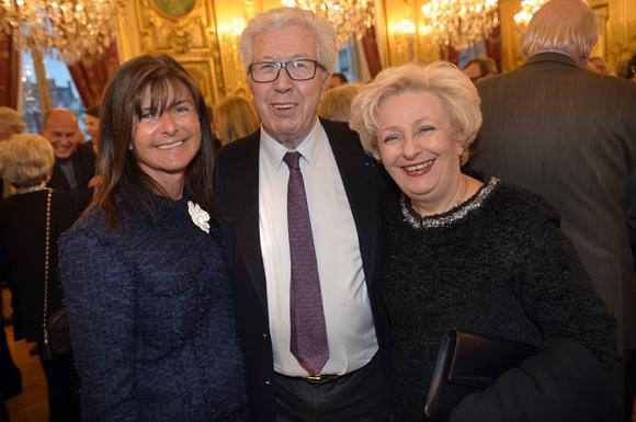 19. Fabienne Lacombe, maitre André Soulier et Renée Richard