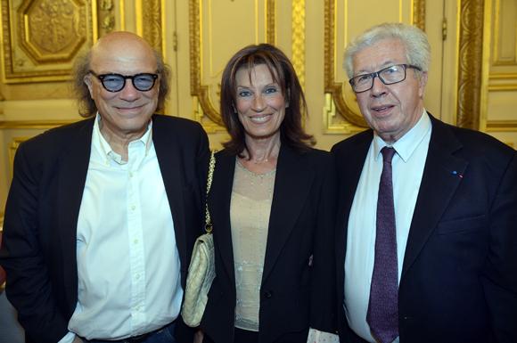 20. Victor Bosch (Le Radiant), son épouse Dominique et maitre André Soulier