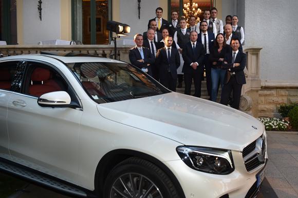 2. Mercedes- Benz + Villa Marguerite = une superbe soirée