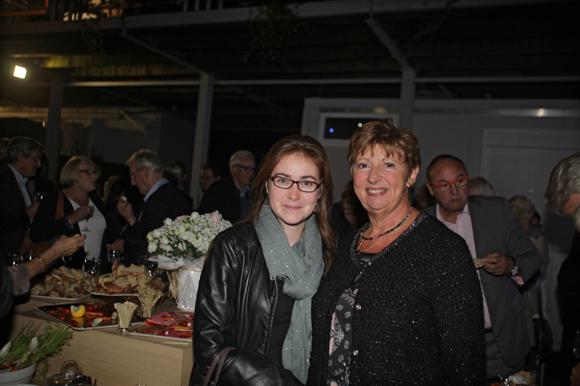 22. Violaine Jarry (Lega -Cité) et Maryse Brun, présidente de l'association le Class