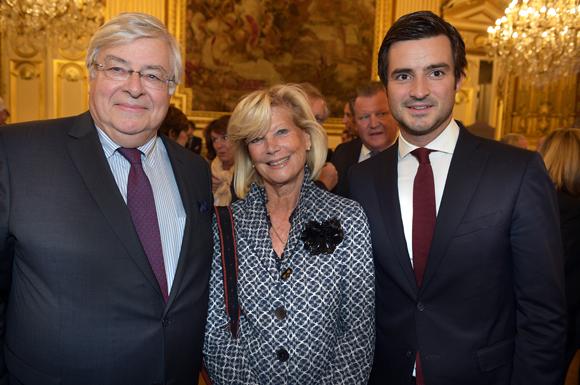 22. Franck Levotre, son fils Maxime, dirigeants du Groupe Levotre et Nadine Moreau