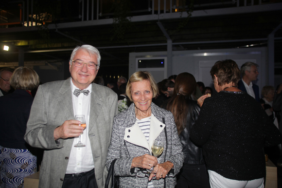 23. Michel Bossut, président de l'association 2auta et Annie Mercier, association 2auta