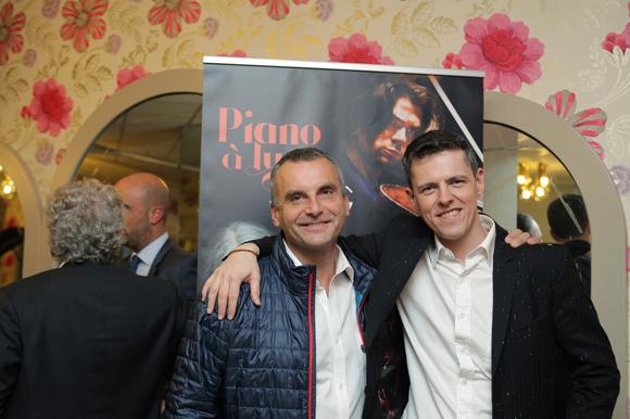 2. Yves Masson (CNR) et Jérôme Chabannes (Piano à Lyon)