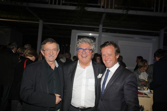 28. Yvon Deschamps, Roland Bernard (Axotel) et Thomas Rudigoz, maire du 5ème