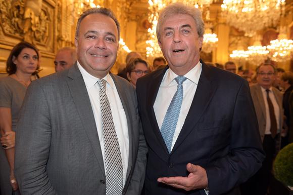29. Denis Broliquier, maire du 2ème et Maître Richard Brumm, adjoint aux Finances